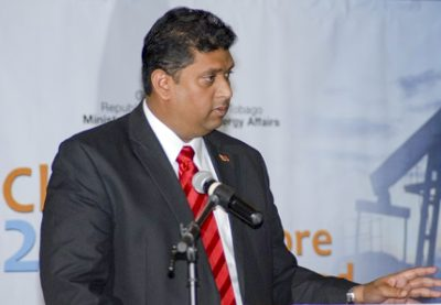 Kevin Ramnarine, Trinidad's minister of energy and energy affairs