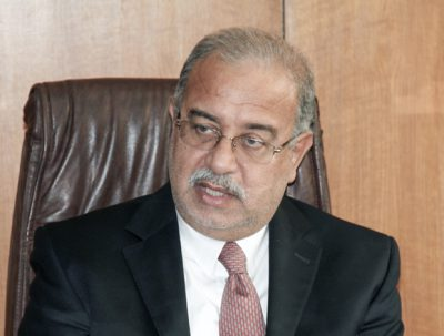 Minister of Petroleum and Mineral Resources Sherif Ismail, Egypt