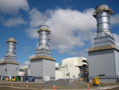 The Daandine power station receives gas from nearby Daandine field.