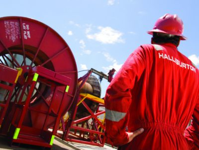 Halliburton, world's second-largest oilfield services company