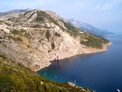 The Dalmatian coast remains relatively unexplored.