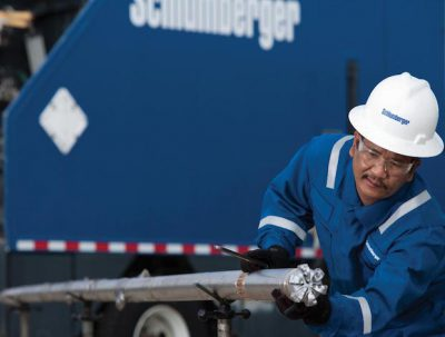 Schlumberger worker