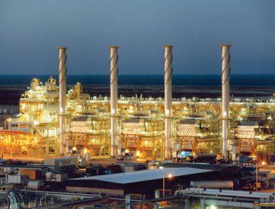 The Ras Laffan gas plant in Qatar