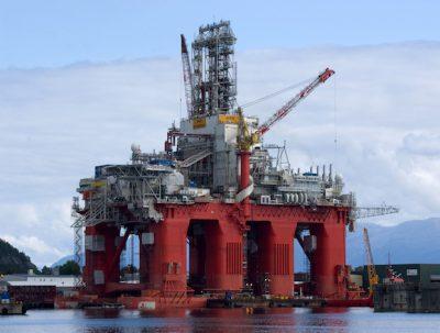 Barents Sea rig