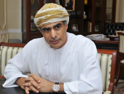Omani Minister of Oil and Gas Mohammed bin Hamad bin Saif Al Rumhy