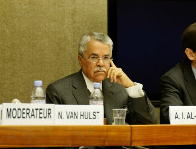 Saudi Arabia will not follow deal brought forward by other major oil producers to freeze rising output, the country's oil minister, Ali Al Naimi, said at a conference in Houston Tuesday.