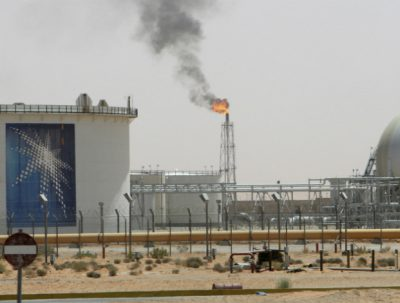 Khurais oilfield in Saudi Arabia
