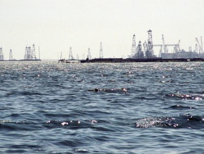 Azerbaijan oilfield