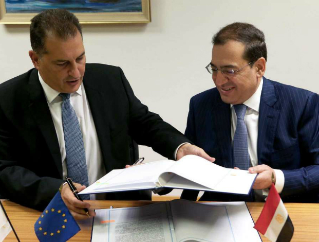 Cyprus to pipe gas to Egypt
