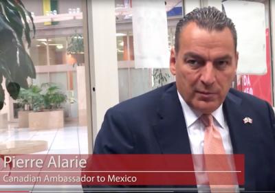 Pierre Alarie, Canadian ambassador to Mexico