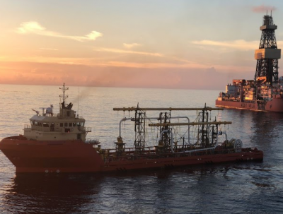 BP's Thunder Horse Northwest Expansion offshore USA