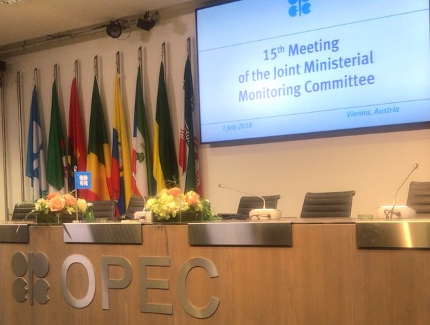 Oil up as OPEC members pledge to extend cuts
